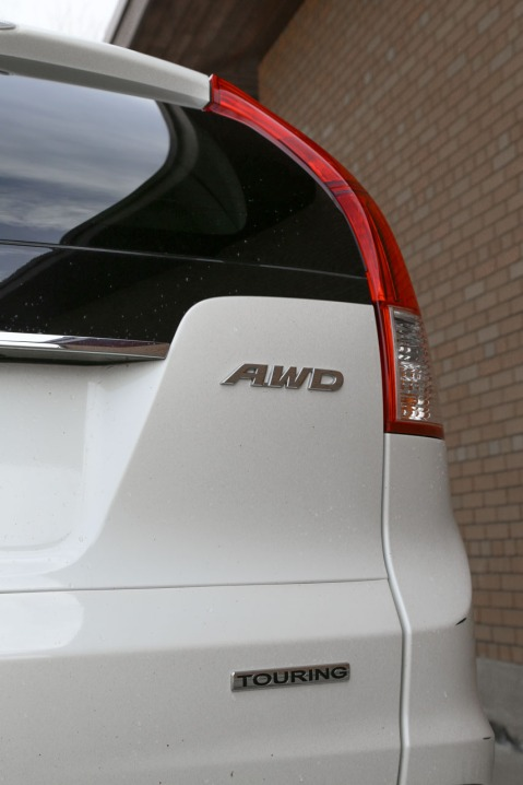 AWD touring badging